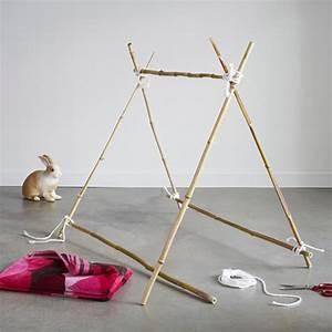 Tipi Enfant Exterieur : comment fabriquer un tipi d 39 enfants avec une serviette ~ Teatrodelosmanantiales.com Idées de Décoration