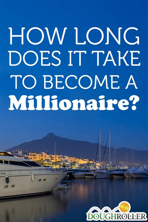 How Long Does It Take To Become A Millionaire?