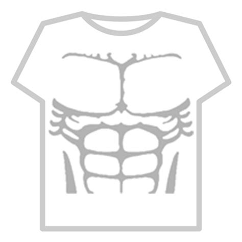 transparent six pack abs roblox