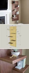 25  Best Ideas About Walnut Floating Shelves On Pinterest