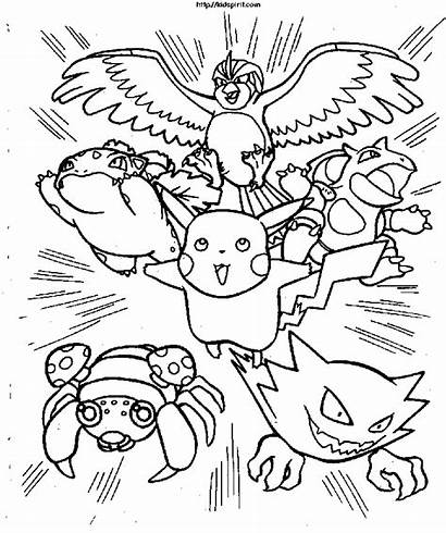 Coloring Pages Pokemon Popular