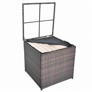 Polyrattan Lounge Sale : polyrattan sitzgruppe lounge sessel sofa sitzgarnitur gartenset braun kissenbox ebay ~ Whattoseeinmadrid.com Haus und Dekorationen