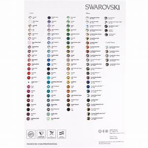 Swarovski Xirius 1088 Round Stone Color Chart | Dreamtime ...