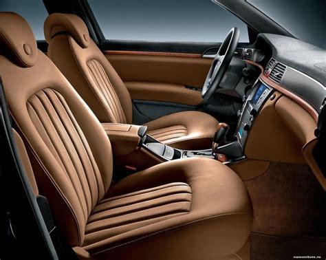 Custom Leather Car Upholstery