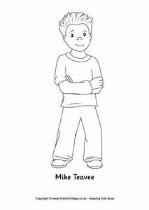 Charlie Bucket Willy Wonka Coloring Pages Pinterest
