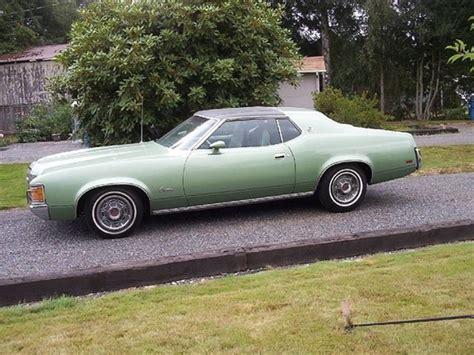1971 Mercury Cougar For Sale Monroe, Washington