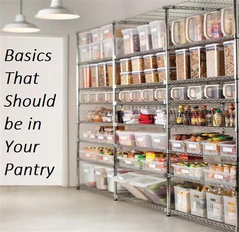 basics      pantry canning