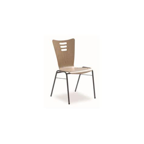 chaise reunion chaise de réunion avec assise et dossier en bois dmc direct