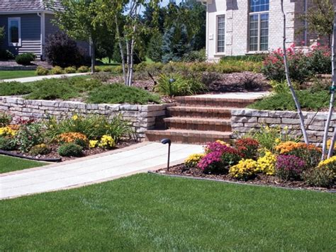 front yard retaining wall front yard retaining wall stone for the home pinterest