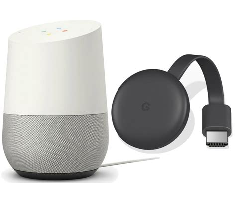 buy home chromecast bundle free delivery currys