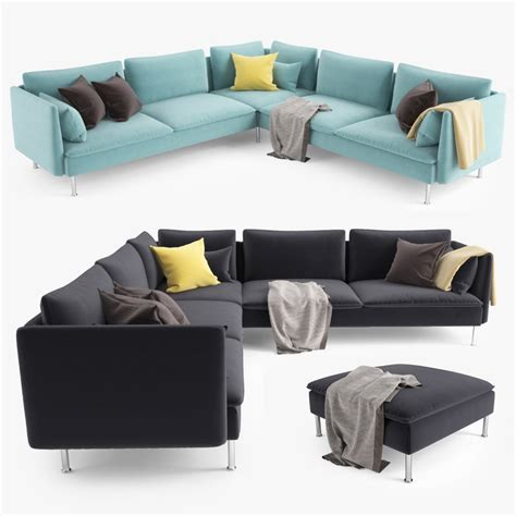 soderhamn sofa for sale 3d ikea soderhamn corner sofa model