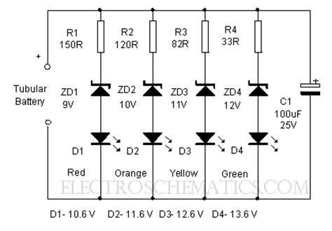 Led Voltmeter Circuit