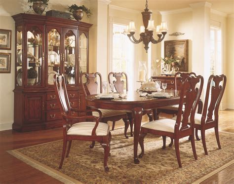 Cherry Dining Room Set by Cherry Grove Classic Antique Cherry Oval Leg Extendable
