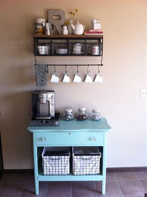 genius ways  diy  coffee bar  home eatwell