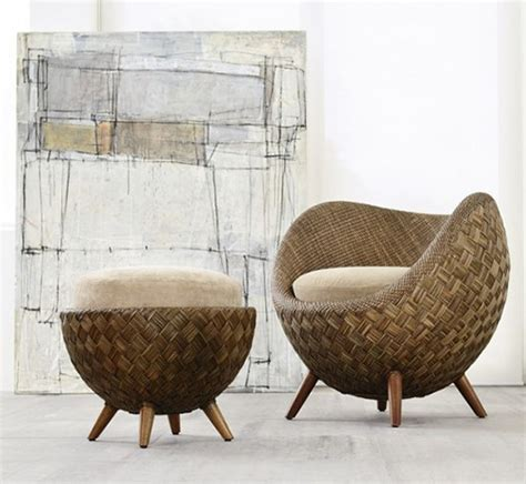 small comfortable rattan chair by kenneth cobonpue la