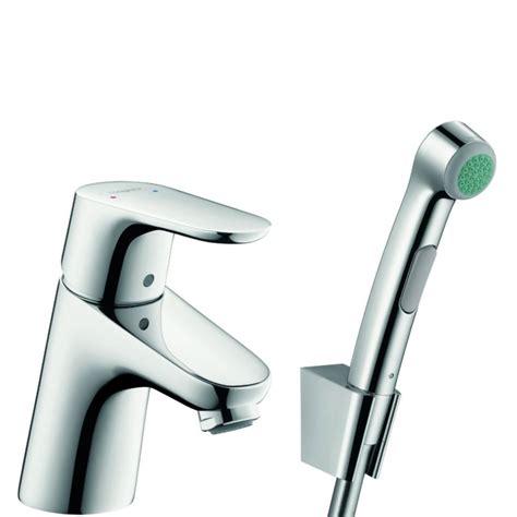 hansgrohe focus 70 hansgrohe focus 70 bidetkraan met handdouche chroom 31926000 sanitairwinkel nl
