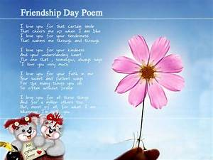 20+ Beautiful And Cool Friendship Poems