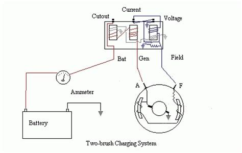 6 volt generator voltage regulator wiring diagram wiring diagram and fuse box diagram
