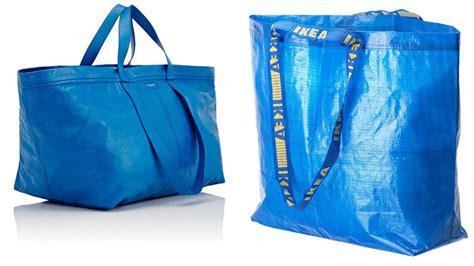 ikea tote bags balenciaga launches ikea esque blue bag for 1 670