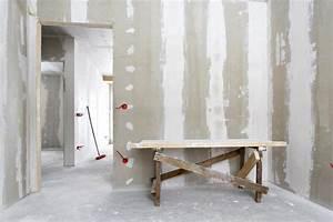 Pose De Placo Sur Rail : pose de placo prix du placo au m2 ~ Carolinahurricanesstore.com Idées de Décoration