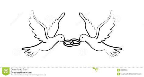 dessin mariage noir et blanc