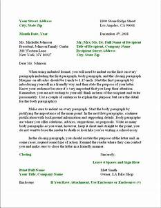 Business letter businessprocess for Template for writing a memo
