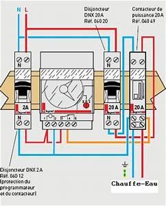Cablage Chauffe Eau : latest ton horloge donc les deux fils qui te reste tu tuen ~ Melissatoandfro.com Idées de Décoration