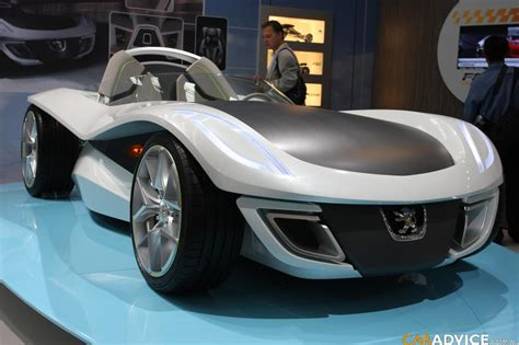 Peugeot Flux Concept Frankfurt Motor Show Photos