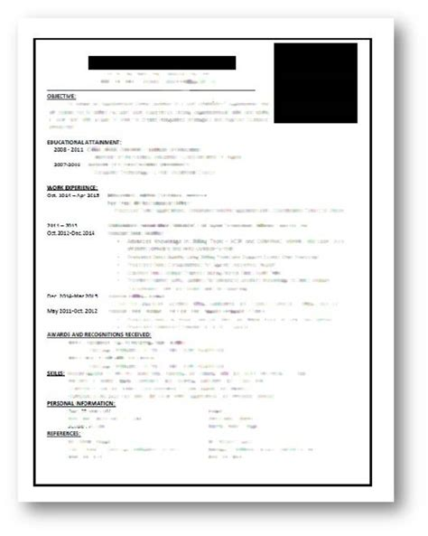 How To Write An Effective Resume by Sle Resume How To Write An Effective Resume