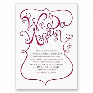 We do again vow renewal invitation invitations by dawn for Free printable wedding vow renewal invitations