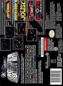 SNES - Williams Arcade's Greatest Hits Custom Game Case ...