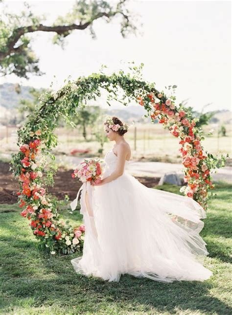 40 Outdoor Fall Wedding Arch and Altar Ideas Wedding