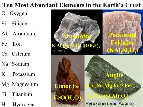 minerals physical properties