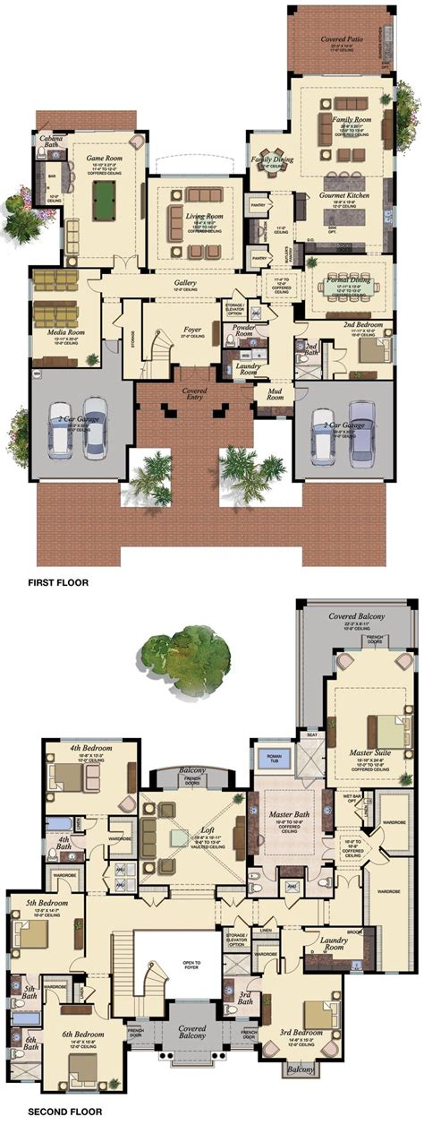 6 bedroom house plans 6 bedroom house plans home deco plans luxamcc