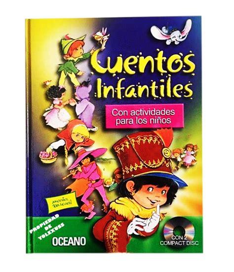 Libro Cuentos Infantiles Oceano Con 2 Cds  S 90,00 En