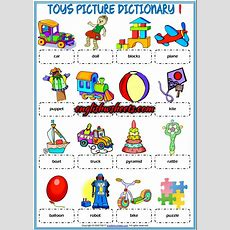 Toys Esl Printable Picture Dictionaries For Kids #toys #esl #printable #picture #dictionary