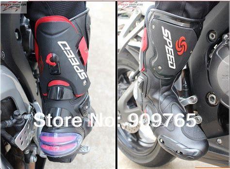 motorcycle bike shoe free shipping new black waterproof offroad outwear boots