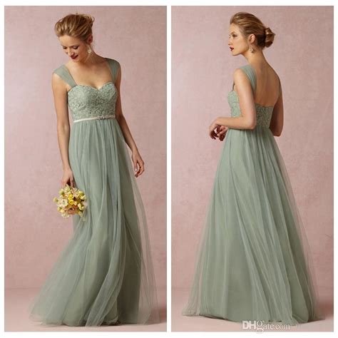 sage convertible dress bridesmaid dress green tulle