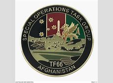 Special Operations Task Force 66 challenge coin The