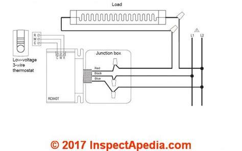 Convert Line Voltage Thermostat Low Nest