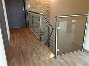 Treppengeländer Mit Glas : schlosserei erhard g tz treppengel nder in edelstahl ~ Markanthonyermac.com Haus und Dekorationen