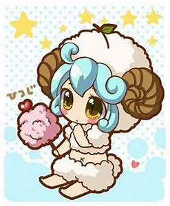 Chibi, Aries and Cute sheep on Pinterest