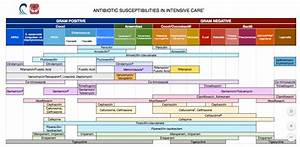 Antibiotic Spectrum Chart Phartoonz