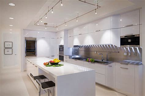 12 kitchens with neon lighting