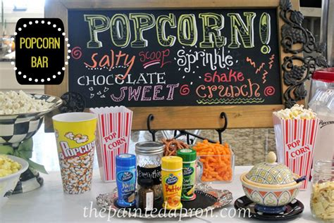 Walmart Kitchen Island Panache Popcorn Bar The Painted Apron