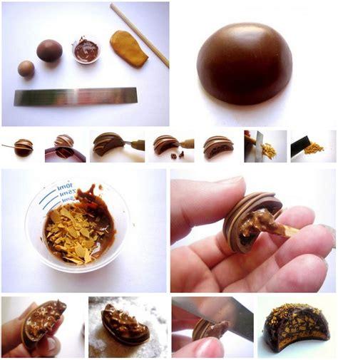 tuto cuisine tuto bijoux gourmands chocolat fourré bijoux sucrés