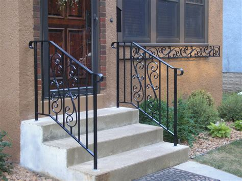 Small Outdoor Stair Railing Home Depot  Founder Stair