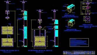 gates dwg block  autocad designs cad