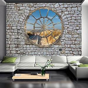 vlies fototapete 400x280 cm 3 farben zur auswahl top With balkon teppich mit retro tapete amazon
