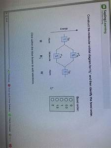 Solved  Sapling Learning Construct The Molecular Orbital D